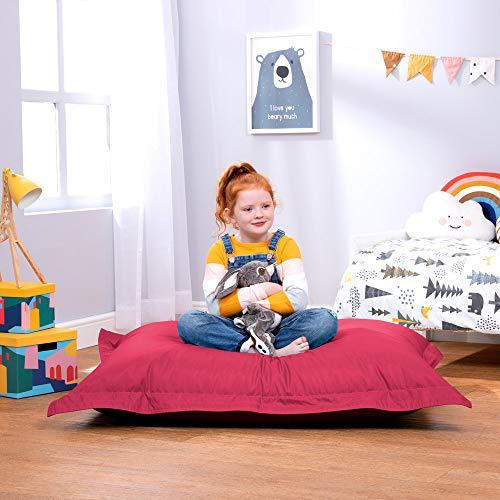 Bean Bag Bazaar - Poltrona Sacco per Bambini - Pouf a Sacco Grande per Esterno di Tessuto Impermeabile al 100%
