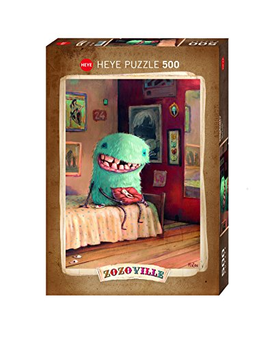Heye - 58080 - Puzzle Classic - Zozoville Milk Tooth - 500 pezzi