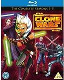 Star Wars Clone Wars - Seasons 1-5 (15 Blu-Ray) [Edizione: Regno Unito] [Edizione: Regno Unito]
