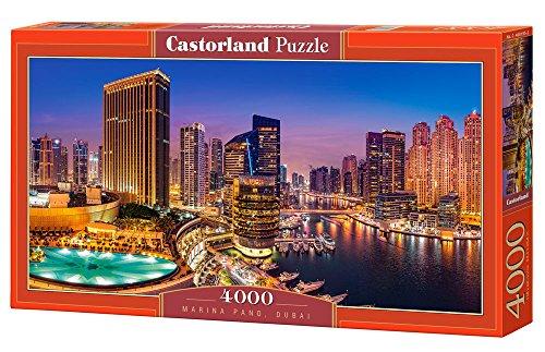 Castor Paese C di 400195–2–Puzzle Marina Pano, Dubai 4000Pezzi