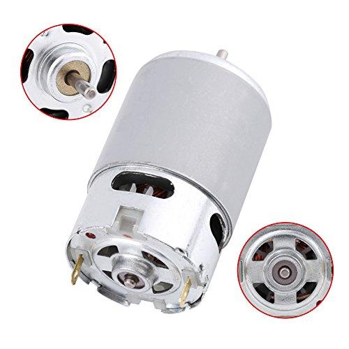 specifiche tecniche: Modello: RS-550 Potenza nominale: 0,07 (W) Tipo di prodotto: motore a pennello DC Tensione nominale: 12-24V Corrente nominale: 4,5A Velocità nominale: 5800RPM Coppia nominale: 0,02NM Formato di aspetto: 57 × 35,8 mm / 2,2...