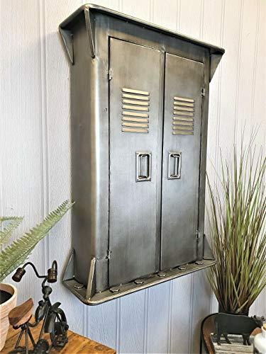 Generic L Cu Mensola Vintage ver Meta Wall Armadio Indust Industrial Storage L Storage Large Inet...