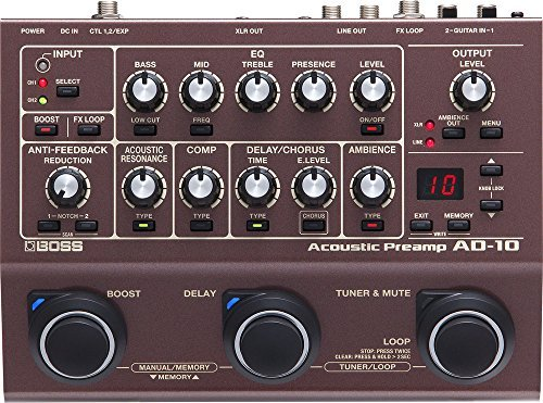 AD-10 Acoustic Preamp