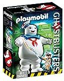 Cazafantasmas-Stay Puft Marshmallow Man Figura con Accesorios Muñecos, multicolor, 9,3 x 18,7 x 24,9 cm Playmobil 9221