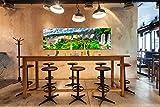 Cuadro Cartón ecologico con cantos impresos Cataratas Iguazu Argentina | Varias Medidas 100x40cm | Decoración Habitación | Multicolor | Diseño Elegante |