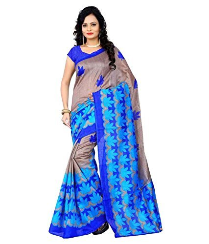 Saree (SRP Fashion Selection Women Bhagalpuri Saree With Blouse)