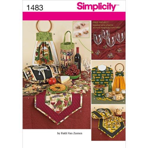 Simplicity Creative Patterns 1483 Entertainment Accessories