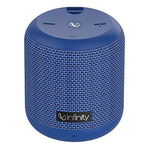 Infinity (JBL) Fuze 100 Dual EQ Deep Bass IPX7 Waterproof Dual Connect Portable Wireless Speaker (Mystic Blue)