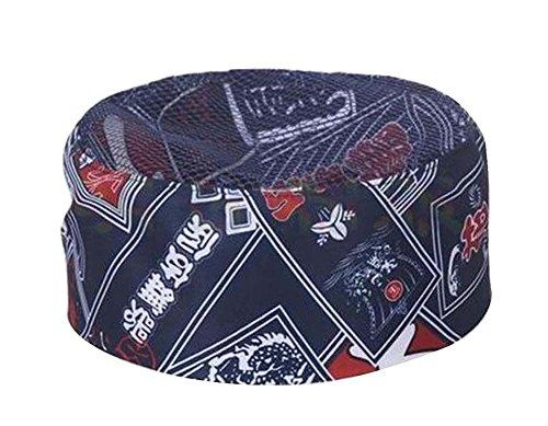 Black Temptation Sombrero de estilo japonés Tienda de sushi Sombrero de chef  Sombrero de camarero Sombrero 20f8057f055