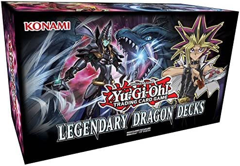 Unbekannt Yu-Gi-Oh - Legendary Dragon Deck Box - Deutsch