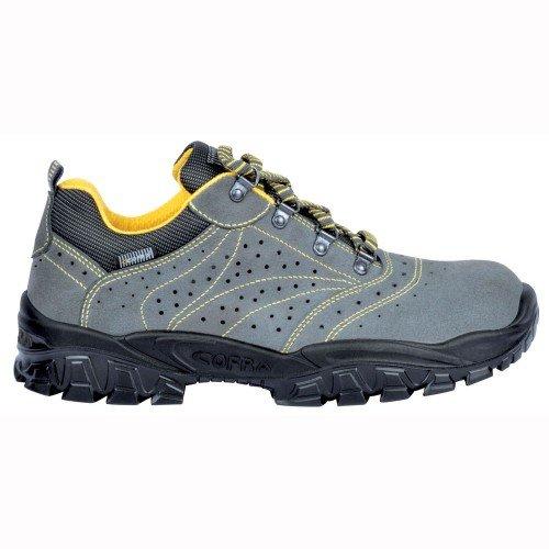 Cofra Scarpe antinfortunistiche, S3SRC, scarpe per sicurezza sul lavoro, 42, Grigio