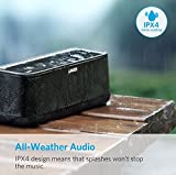 Anker SoundCore PRO+ - Altoparlante Bluetooth da 25 W con Bassi Profondi, 18 Ore di Durata della Batteria, Impermeabile, con Tecnologia HiFi & BassUp