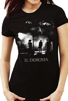 35mm – Camiseta Mujer El Exorcista-The Exorcist Terror Movie