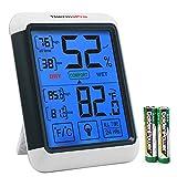 ThermoPro TP55 Termometro Igrometro Digitale da Interno, Misuratore di Umidità e Temperatura Ambiente / Termoigrometro Professionale con Display LCD, Memoria Massima/Minima, Monitor di Comfort Casa