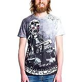 Les Gardiens de la Galaxie vol. 2 - T-shirt pour hommes Epic Star-Lord motif allover - Elbenwald - S
