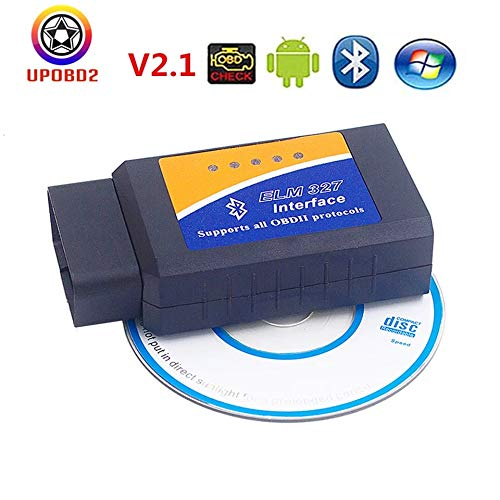 OBD2 OBD II ELM327 2.1 Bluetooth Diagnostic Tool Mini elm 327 Bluetooth V2.1 Car Scanner Support 7 OBD2 Protocols Android/PC