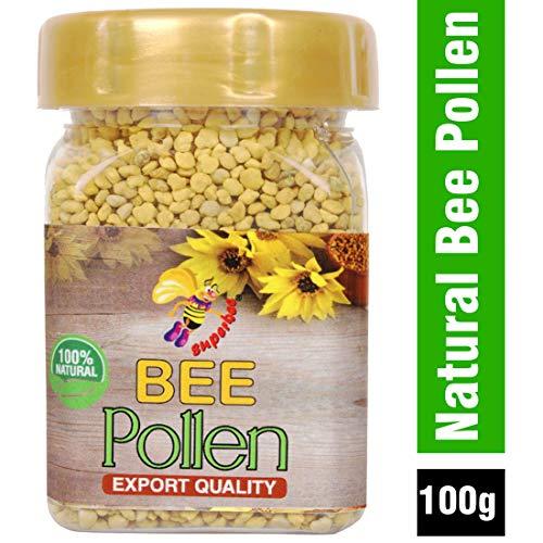 Super bee 100 % Natural Bee Pollen Granules, 100g