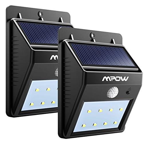 Mpow Luci Solari Lampada Wireless Ad Energia Solare Da