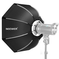 Neewer 65 Centímetros Softbox Octogonal Plegable con Bowens Montura Speedring, Maleta de Transporte para Speedlite Estudio Flash Monoluz, Retrato y Fotografía de Producto