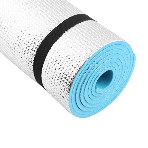 Sweeping Yoga Mat Rutschfeste Matte für Yoga-Decke mit Beschichtung aus Aluminium 180* 60cm * 0.8cm nicht Slip Lightweight Comfort Foam Exercise Camping