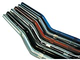 Superbikelenker ABM Stahl, schwarz
