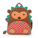 Skip Hop Zoo Pack - Mochila, diseño hedgehog, color marrón