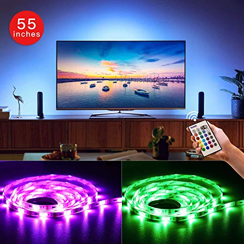TV USB LED Bias Lighting Striscia di retroilluminazione per 55' pollici a schermo piatto HDTV
