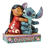 Enesco 4043643 Ition Disney, Figurina, Lilo e Stitch, Resina, Multicolore