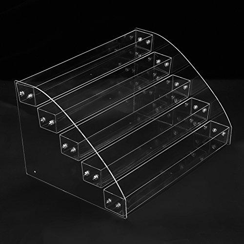 Asixx Caja Gafas, Organizador para Gafas, Caja para Gafas de Sol, Caja para Pintauñas, para Guardar Gafas de Sol(Cinco Piso)