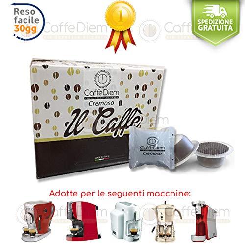 Bialetti 100 Capsule Cialde Compatibili Bialetti * Caffè Diem Miscela Cremoso Napoli
