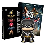 Justice League Steelbook + Poster + Funko Batman