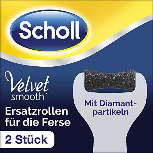 Scholl EXPERTCARE Ersatzrollen für die Ferse - Nachfüller für die elektrischen Hornhautentferner von Scholl - Mit Diamantpartikeln - 2 Rollen