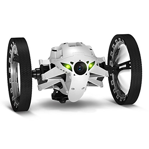 Parrot PF724000,  Minidrones Jumping Sumo Robot, Bianco