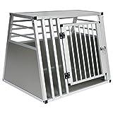 EUGAD Trasportino per Animali Gabbia Cane per Auto Viaggio Box Trasporto in Alluminio
