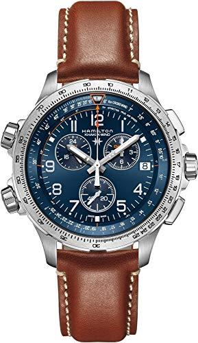 Hamilton Khaki X-Wind GMT H77922541 cronografo da uomo