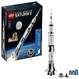 LEGO 6197232 NASA Apollo Saturn V 21309 Building Kit, Multi
