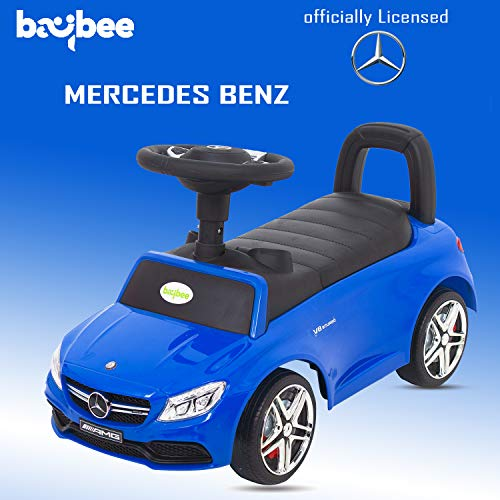 Baybee Officially Licensed Mercedes Benz Kids Ride On Push Car Toy Car & Small Toy Toddlers Baby Toys 1-3 Years-Twist, Turn, Wiggle for Babies Endless Fun-Kids Suitable for Boys & Girls