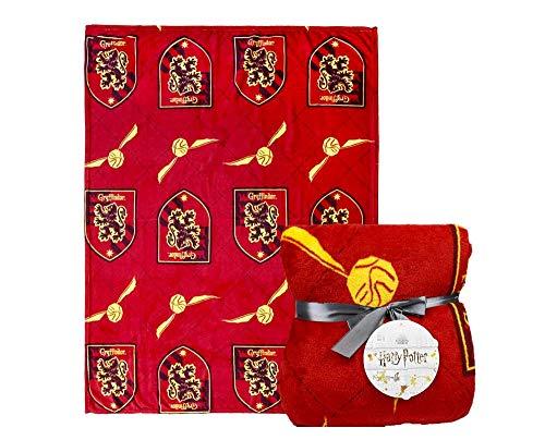 Harry Potter   Esclusiva Coperta Grifondoro   Letto E Divano Hogwarts Coperta   Stampare Gryffindor   Morbida Coperta in Pile   Viaggiare O A Casa   120 x 160 CM  