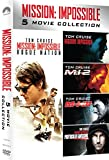 Mission Impossible 5 Movie Collection (Box 5 Dvd)