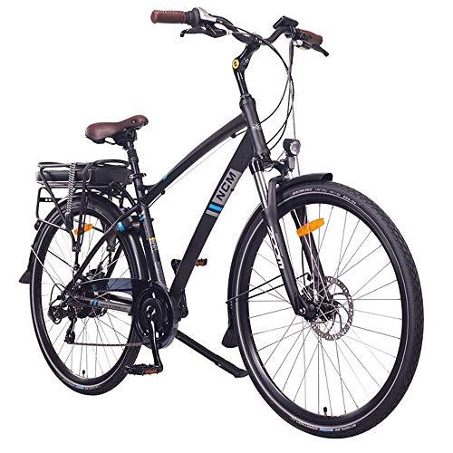 NCM Hamburg Bicicletta elettrica da Città, 250W, Batteria 13Ah 468Wh, 28'
