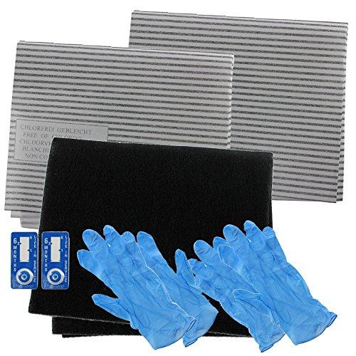 Spares2go cappa Grease Filter Carbon kit completo per integra completo da cucina aspiratore Vent