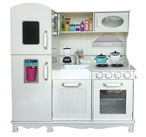 MALATEC Cucina in Legno • Tanti Elementi mobili, ad es.manopole • armadietti apribili, cassetti,...
