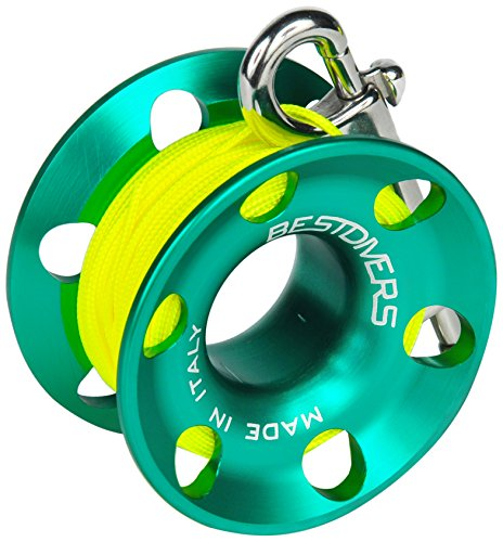 Best Divers ML0086, Mulinello Subacqueo, Verde, 15 metri