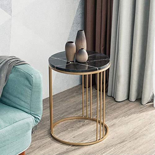 ACZZ Tavolino da salotto, divano ad angolo in stile europeo Semplice tavolo in marmo Tavolino...