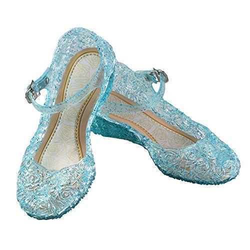 Principessa Cenerentola Scarpe, Uraqt Elsa Frozen Ragazze Scarpe Con Tacco Partito Sandali per Compleanno, Carnevale, Halloween