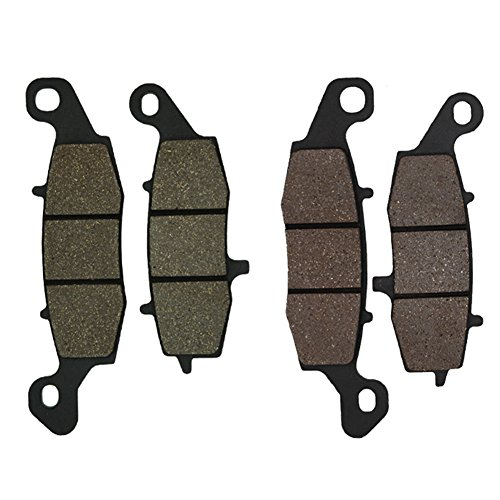 Cyleto, pastiglie freno anteriore per moto Suzuki DL 650, DL 650 V-Strom 650, anno 2004, 2005, 2006, 2007, 2008, 2009, 2010, 2011, 2012, 2013 e GSF 650, GSF 650 Bandit 650, anno 2005 e 2006