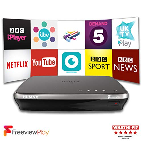 Humax FVP-4000T 500 GB Freeview Play HD TV Recorder