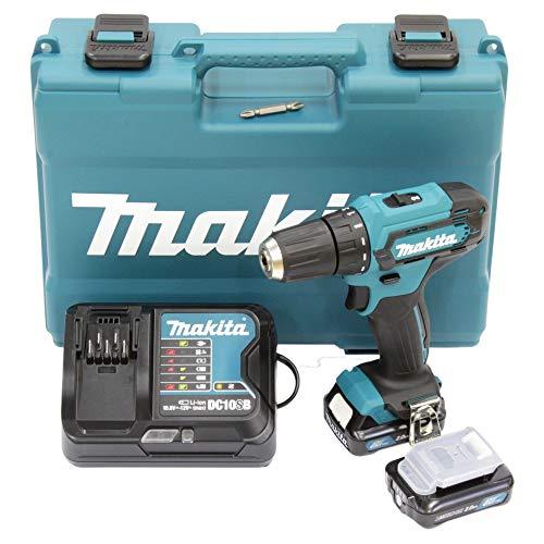Makita DF333DSAE Akku-Bohrschrauber 12 V max. / 2,0 Ah, 2 Akkus + Ladegerät im Transportkoffer