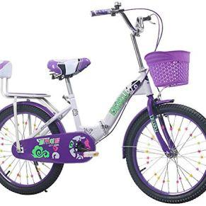 Bicicleta plegable para niños Bicicleta para niños para niñas Bicicleta de tamaño 16