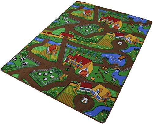 Tappeto Gioco Bambini Farm - 90 x 200 cm
